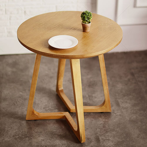 Round Solid Wood Table