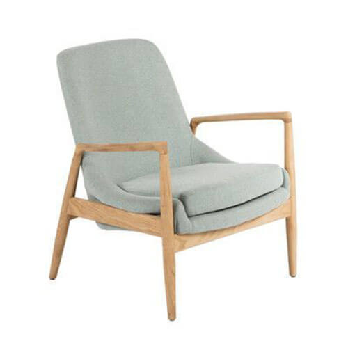 Danish lounge armchair