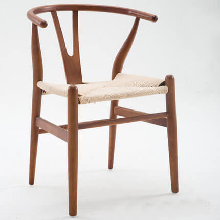 Solid Wood Wishbone Chair