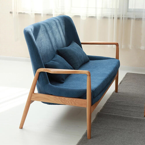Nordic two seater chair